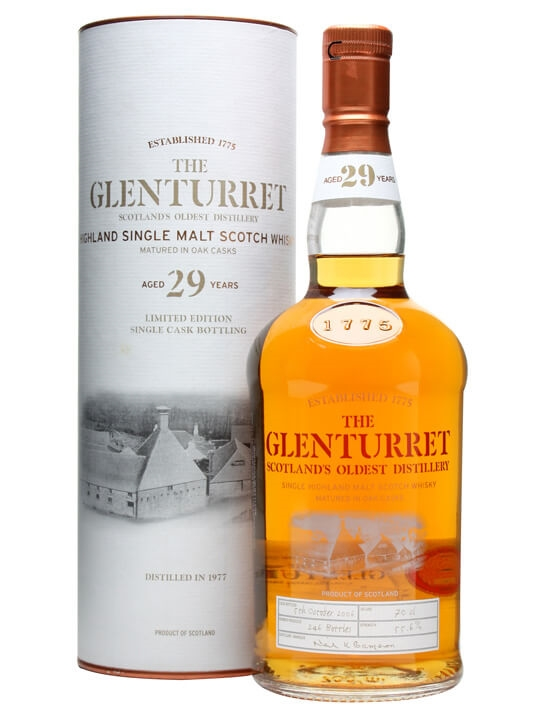 Glenturret 1977 / 29 Year Old / Cask #996 Highland Whisky
