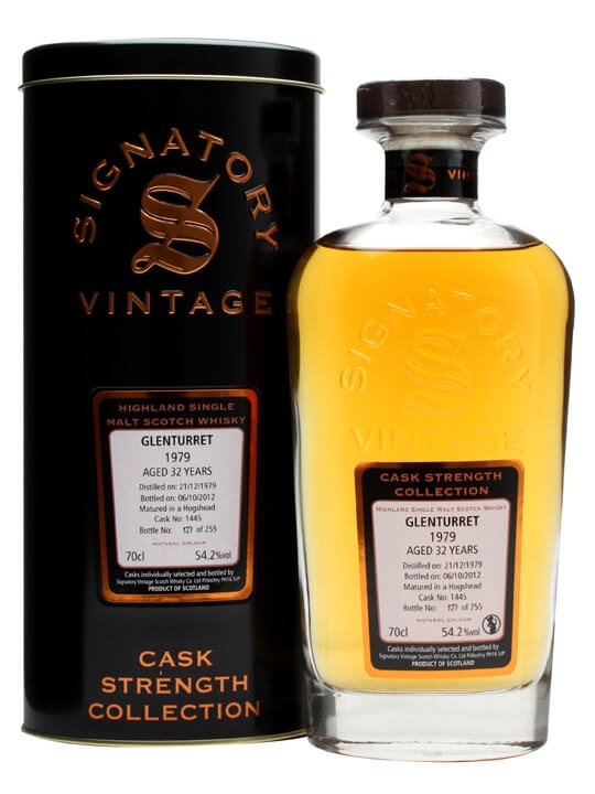 Glenturret 1979 / 32 Year Old / Cask #1445 / Signatory Highland Whisky