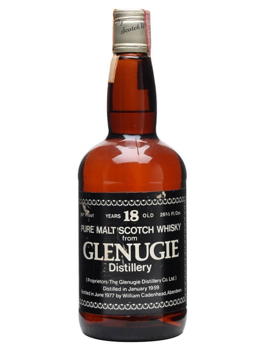 Glenugie 1959 / 18 Year Old / 46% / 75cl / Cadenhead's Highland Whisky