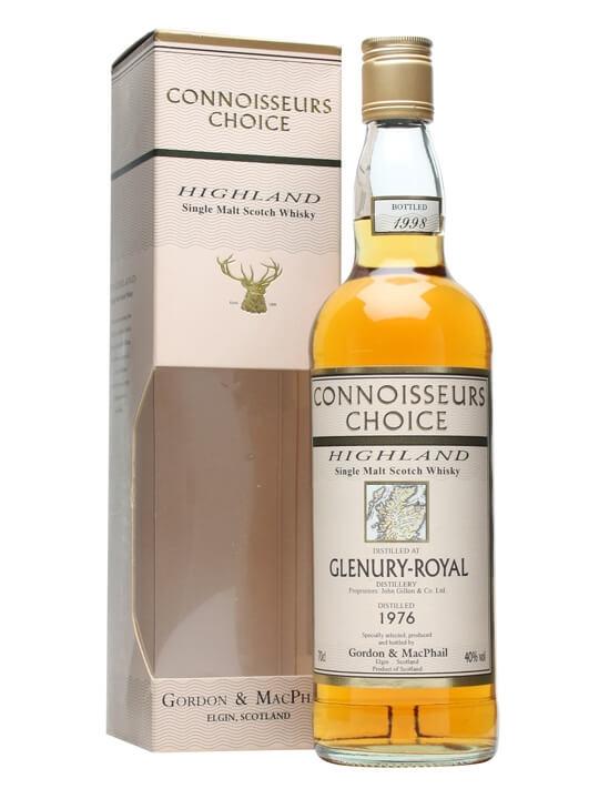 Glenury Royal 1976 / Connoisseurs Choice Highland Whisky