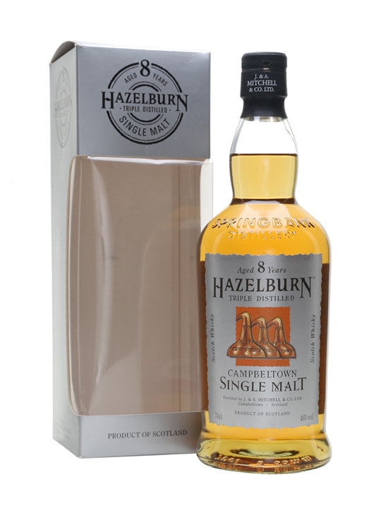 Hazelburn 8 Year Old Campbeltown Single Malt Scotch Whisky
