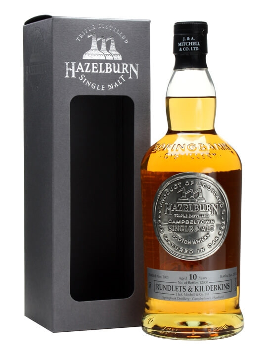 Hazelburn 2003 / 10 Year Old / Rundlets & Kilderkins Campbeltown Whisky