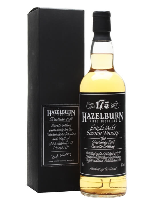Hazelburn / Directors Bottling Campbeltown Single Malt Scotch Whisky