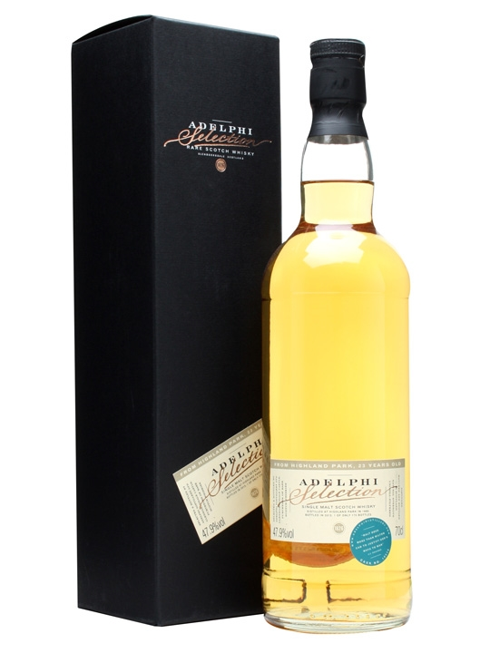 Highland Park 1989 / 23 Year Old / Cask #10518 / Adelphi Island Whisky