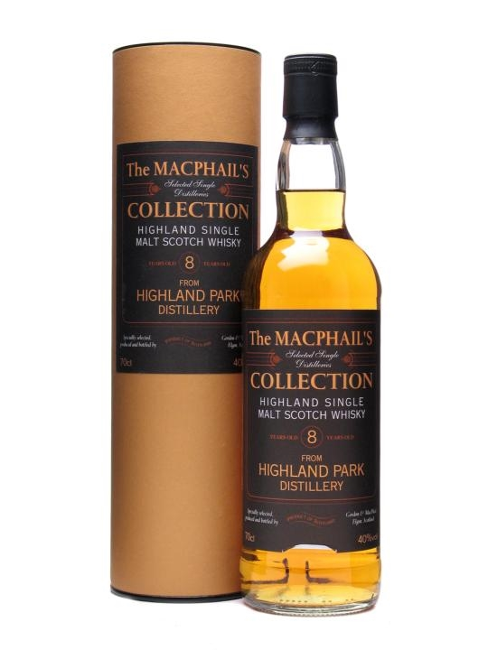 Highland Park 8 Year Old / Macphail's Collection Island Whisky