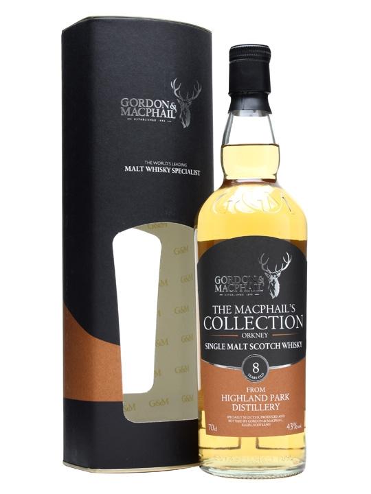Highland Park 8 Year Old / Gordon & Macphail Highland Whisky