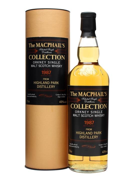 Highland Park 1987 / Macphail's / Gordon & Macphail Island Whisky