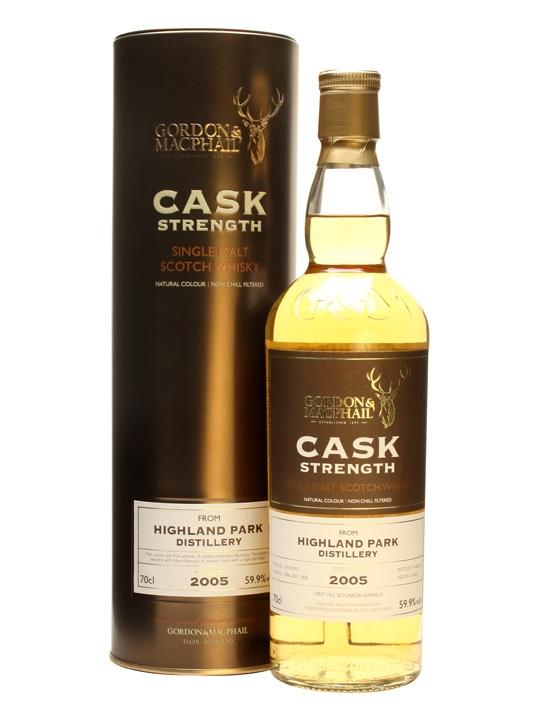 Highland Park 2005 / Gordon & Macphail Island Whisky