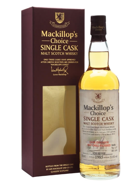 Highland Park 1985 / 29 Year Old / Mackillop's Choice Island Whisky