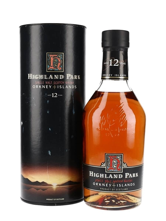 Highland Park 12 Year Old / Bot.1990s Island Single Malt Scotch Whisky