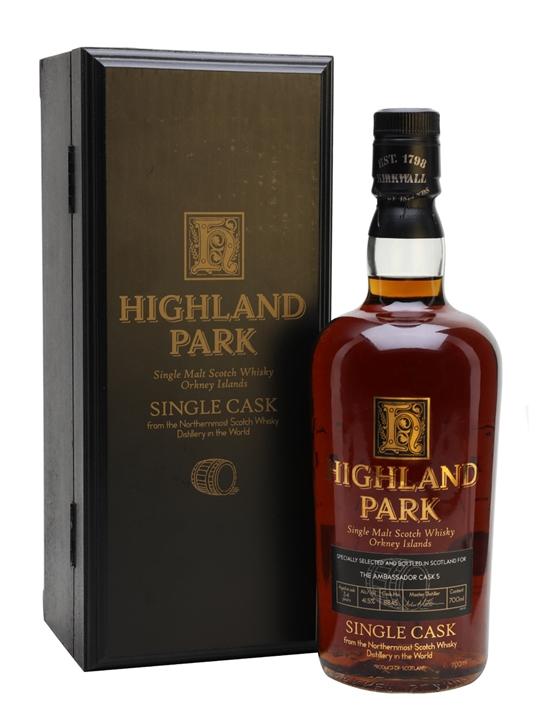 Highland Park 1974 / 34 Year Old Ambassador's Cask 5 Island Whisky
