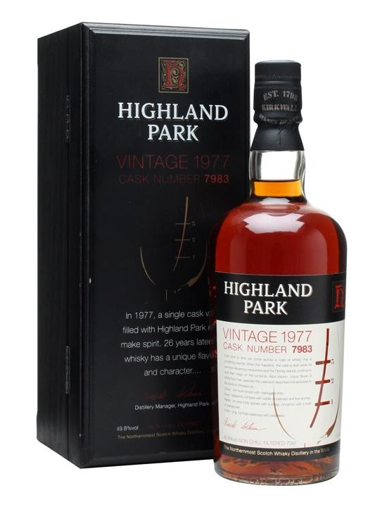 Highland Park 1977 / Cask #7983 Island Single Malt Scotch Whisky