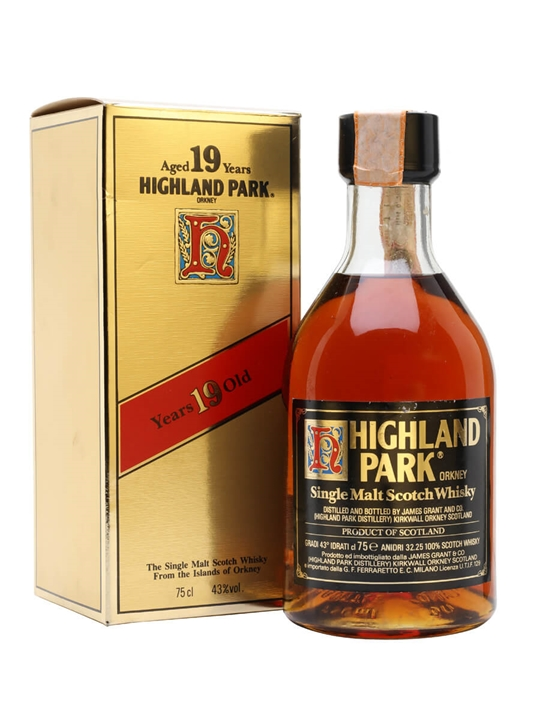Highland Park 19 Year Old / Bot.1980s Island Single Malt Scotch Whisky