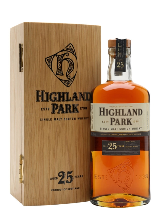 Highland Park 25 Year Old Island Single Malt Scotch Whisky