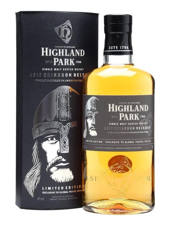 Highland Park Leif Eriksson Island Single Malt Scotch Whisky