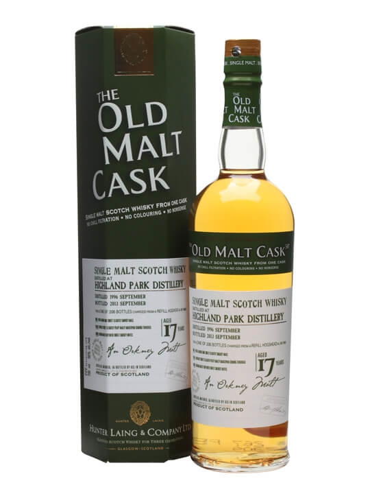 Highland Park 1996 / 17 Year Old / Old Malt Cask Island Whisky