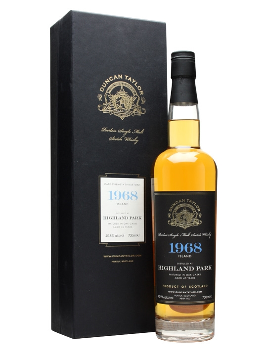Highland Park 1968 / 40 Year Old / Cask #3464 Island Whisky