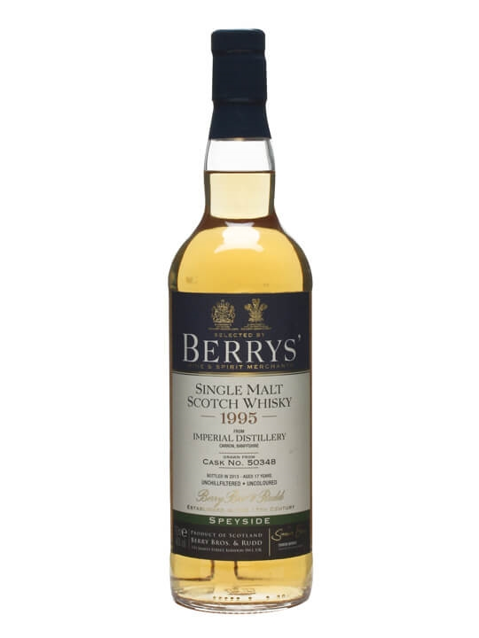 Imperial 1995 / 17 Year Old / Cask #50348 / Berry Bros Speyside Whisky