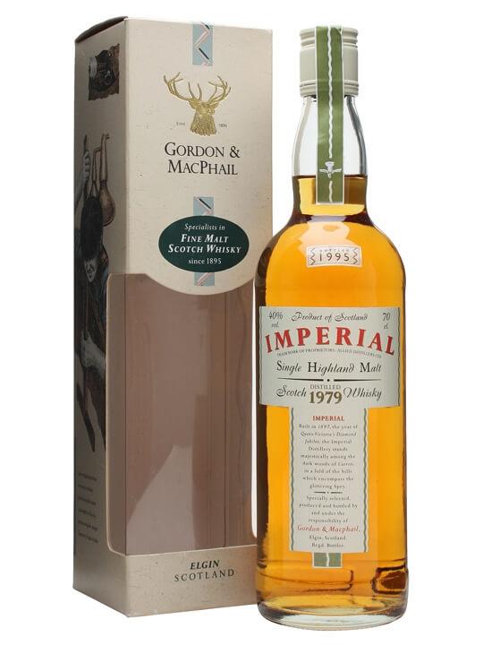Imperial 1979 / Bot.1995 / Gordon & Macphail Speyside Whisky