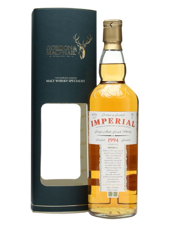 Imperial 1994 / Gordon & Macphail Speyside Single Malt Scotch Whisky