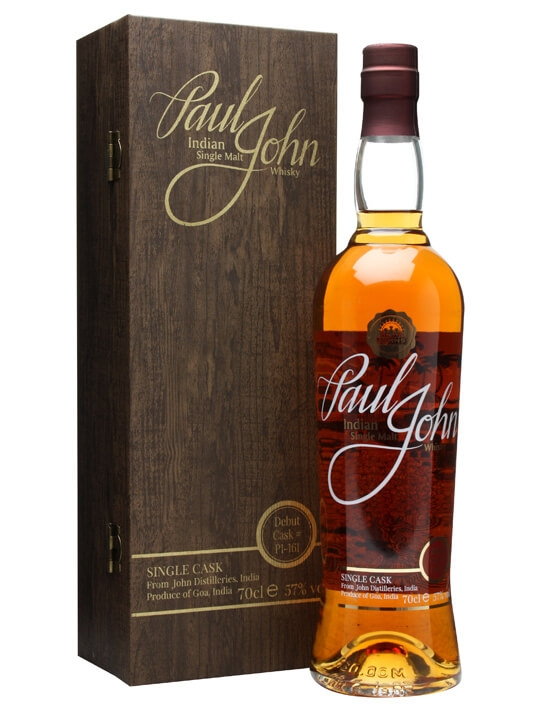 Paul John Single Cask Indian Whisky / #p1-161 Single Whisky