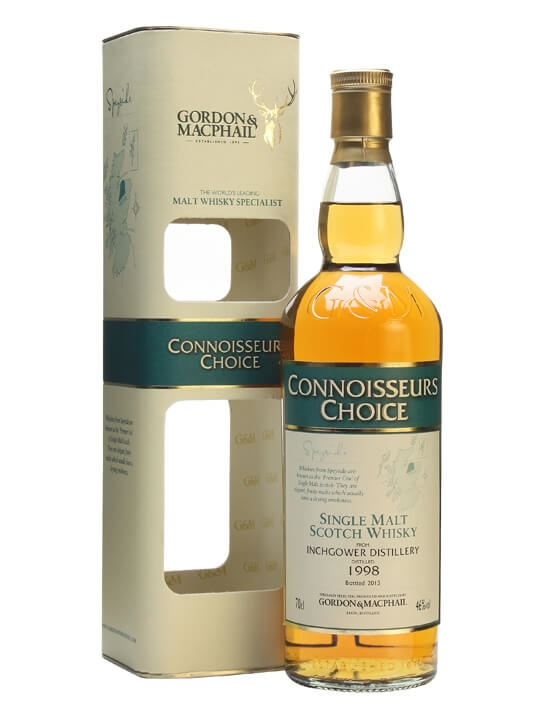 Inchgower 1998 / Connoisseurs Choice Speyside Whisky