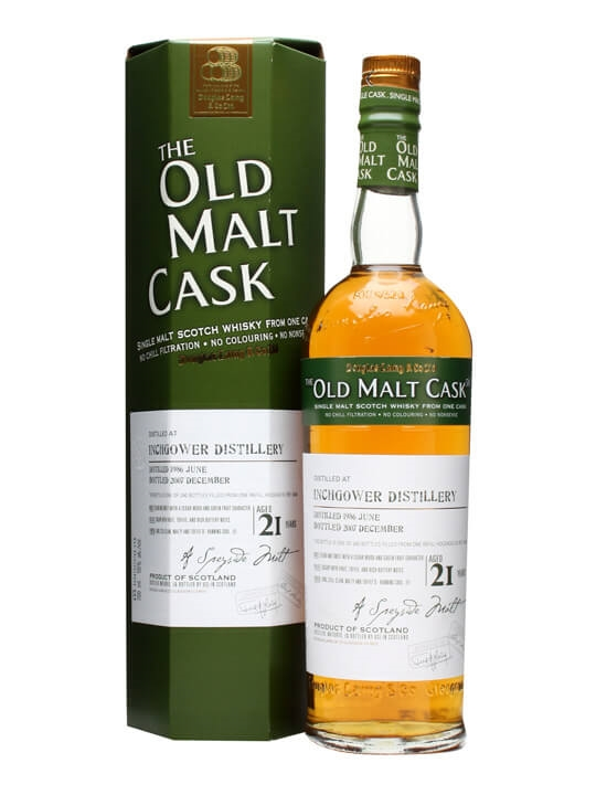 Inchgower 1986 / 21 Year Old / Old Malt Cask #3434 Speyside Whisky