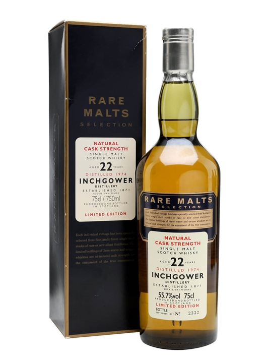 Inchgower 1974 / 22 Year Old Speyside Single Malt Scotch Whisky