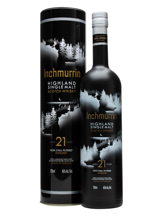 Inchmurrin 21 Year Old Highland Single Malt Scotch Whisky