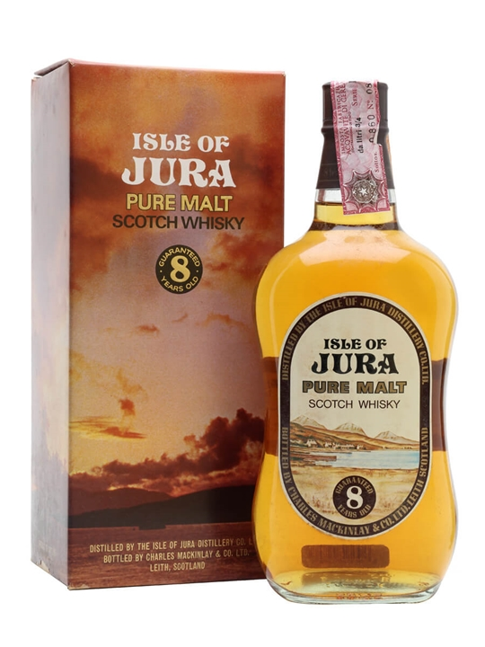 Isle Of Jura 8 Year Old / Bot.1970s Island Single Malt Scotch Whisky