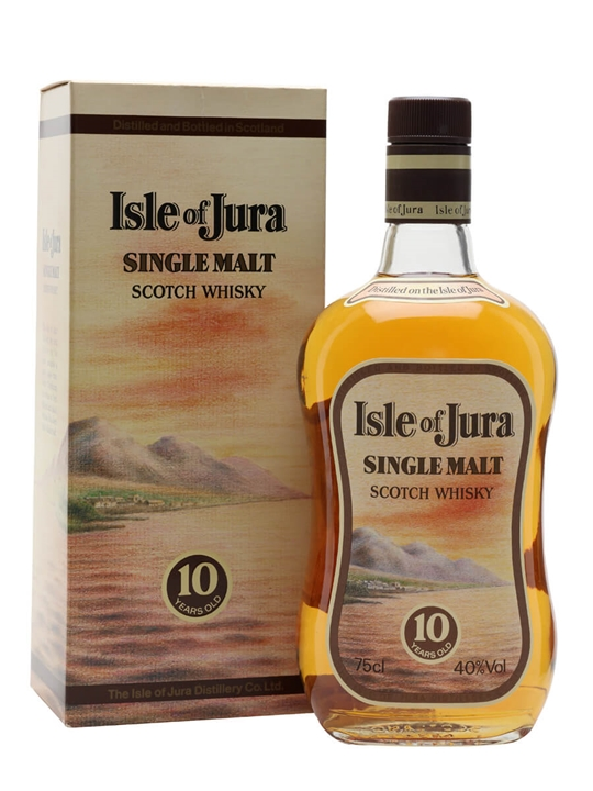 Isle of Jura 10 Year Old / Bot.1980s Island Single Malt Scotch Whisky