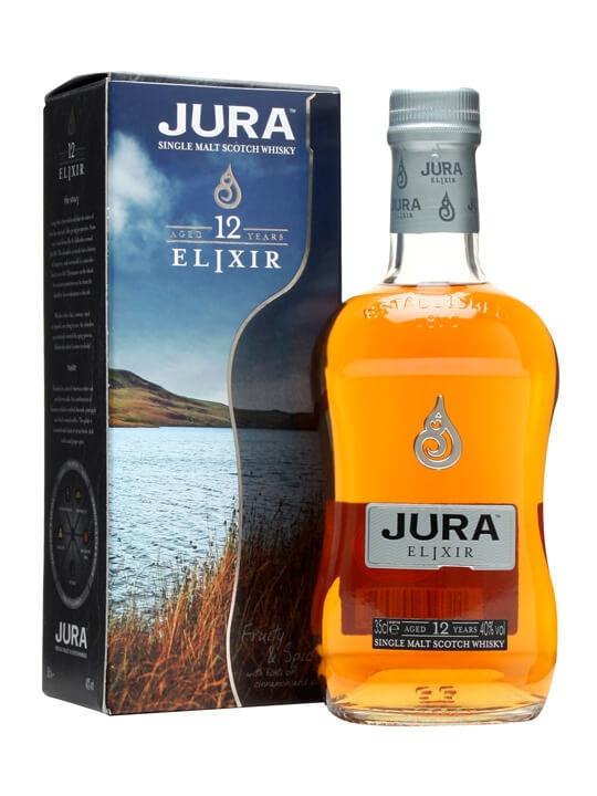 Isle Of Jura 12 Year Old / Elixir / Small Bottle Island Whisky