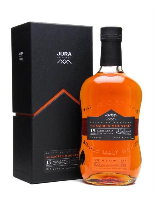 Isle Of Jura Sacred Mountain / 15 Year Old /  Barolo Finish Island Whisky