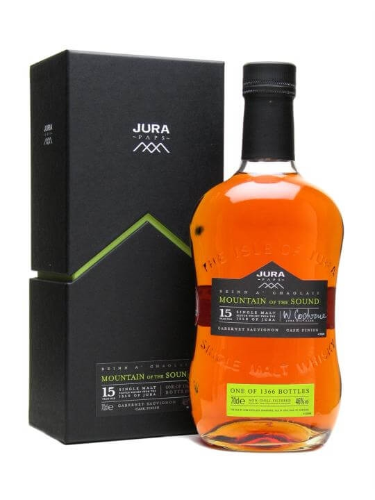 Isle of Jura Mountain of the Sound / 15 Year Old Island Whisky