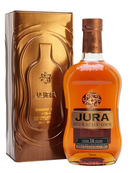 Isle of Jura 16 Year Old Island Single Malt Scotch Whisky