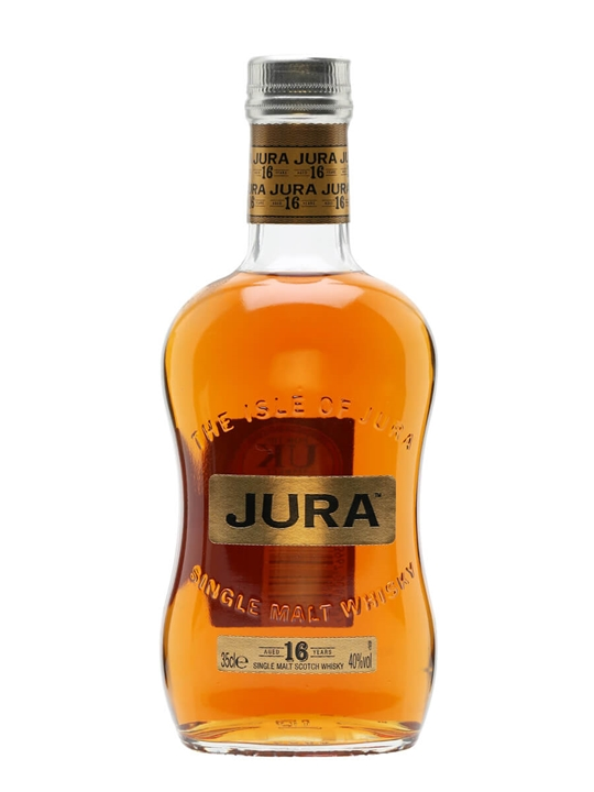 Isle of Jura 16 Year Old / Half Bottle Island Whisky