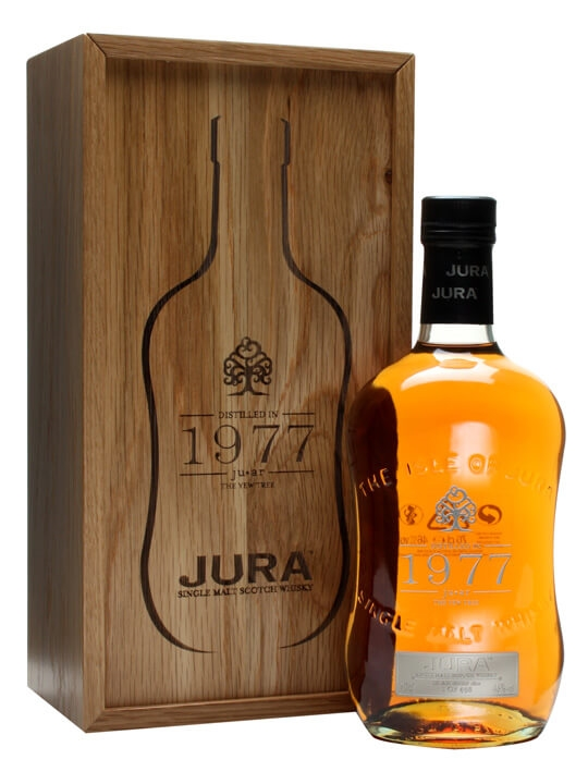 Isle Of Jura 1977 'juar' / 34 Year Old Island Whisky