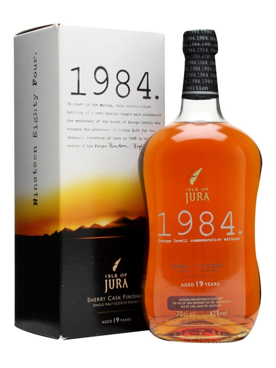 Isle Of Jura 1984 / 19 Year Old Island Single Malt Scotch Whisky