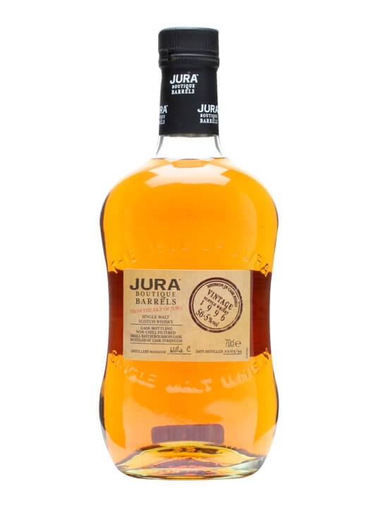 Isle Of Jura 1996 / Boutique Barrels / Bourbon Jn Island Whisky