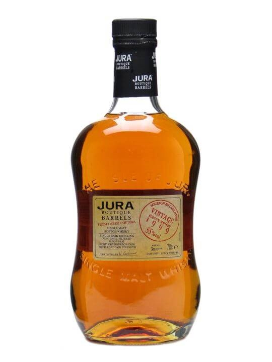 Isle Of Jura 1999 / Bourbon Xu Finish / Heavy Peat Island Whisky