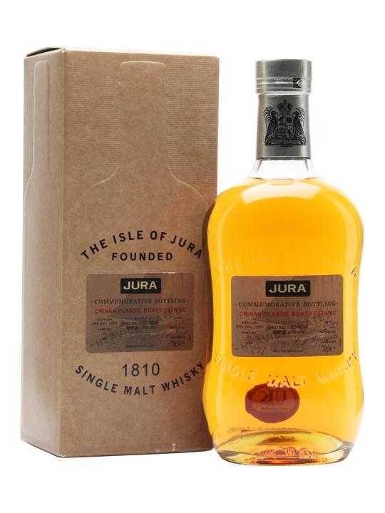 Isle Of Jura 1999 / Crinan Classic Boat Festival Island Whisky