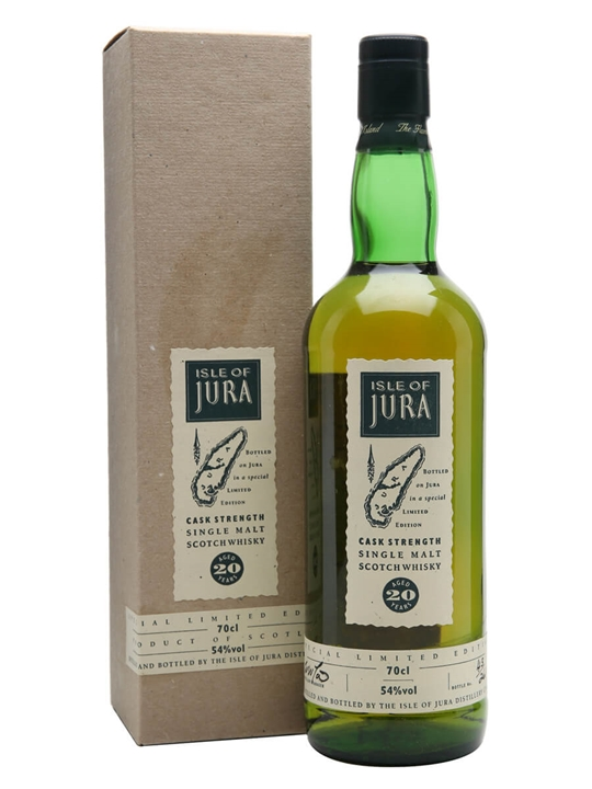 Isle Of Jura 20 Year Old Cask Strength Island Whisky