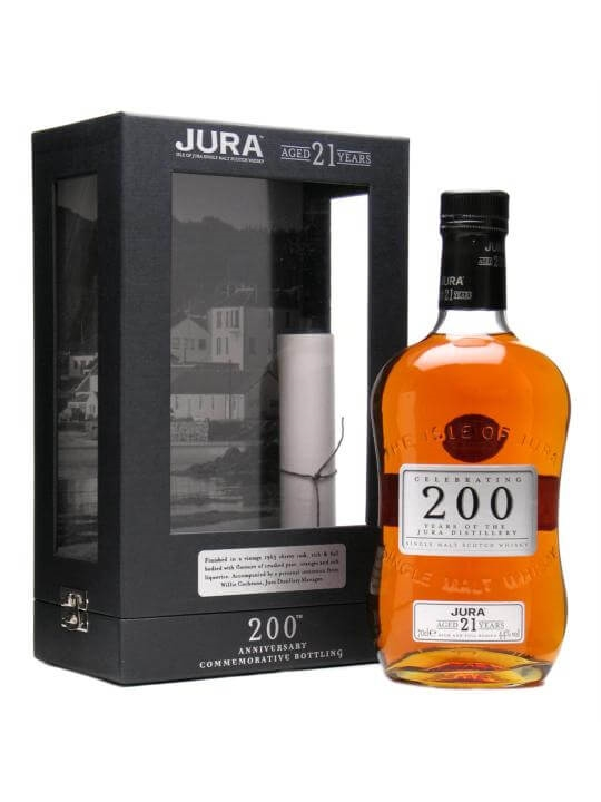 Isle Of Jura 21 Year Old / 200th Anniversary Island Whisky