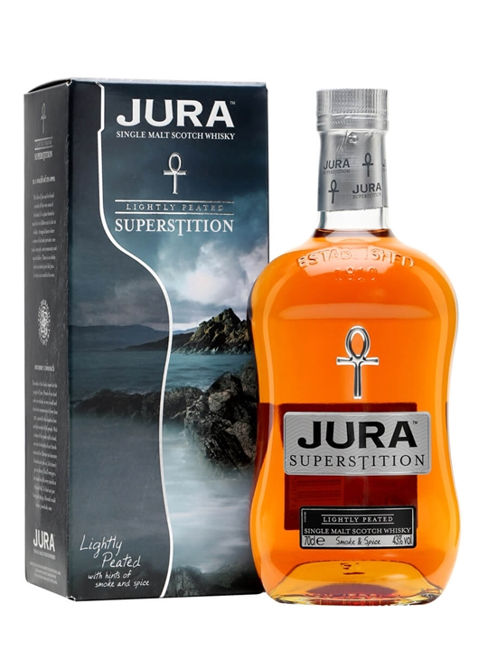 Isle of Jura Superstition Island Single Malt Scotch Whisky