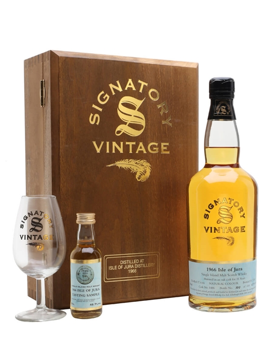 Isle Of Jura 1966 / 35 Year Old / Signatory Island Whisky