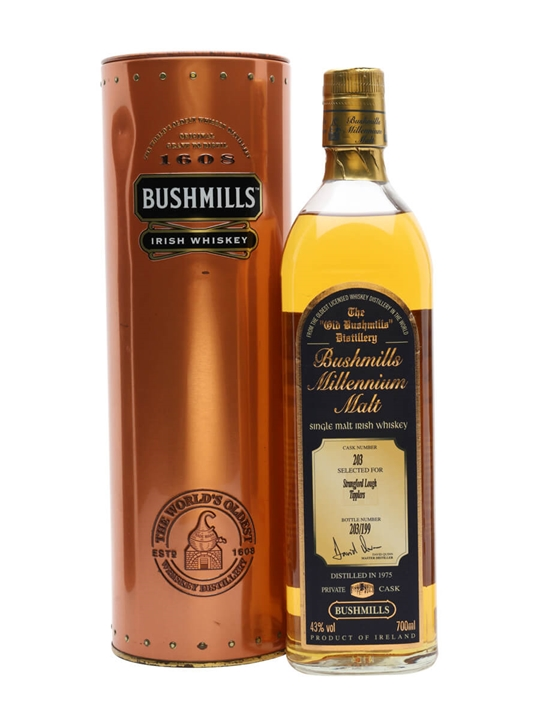 Bushmills 1975 / Millennium Malt Irish Single Malt Whiskey