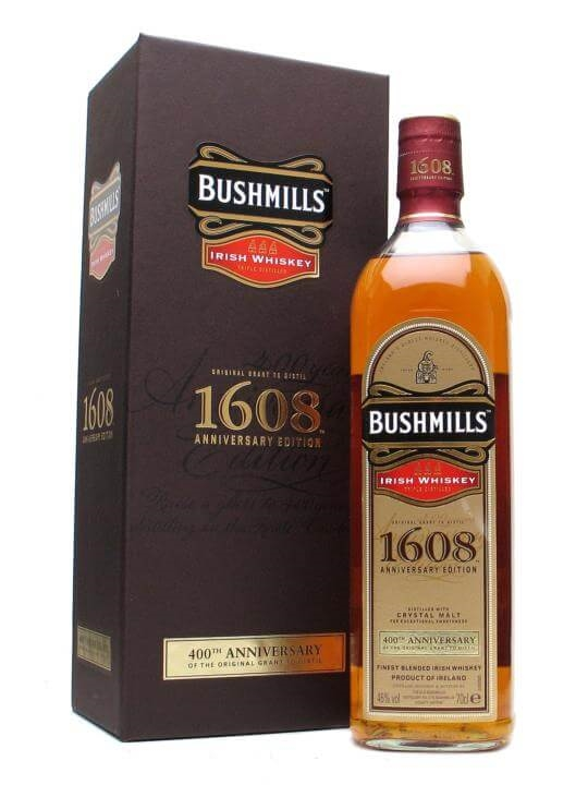 Bushmills 1608 / 400th Anniversary Blended Irish Whiskey
