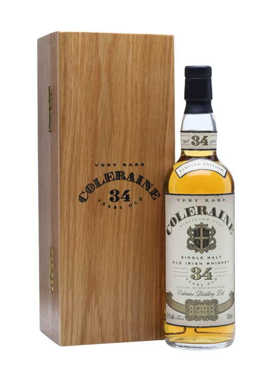 Coleraine 1959 / 34 Year Old / Cask Strength Irish Single Malt Whiskey