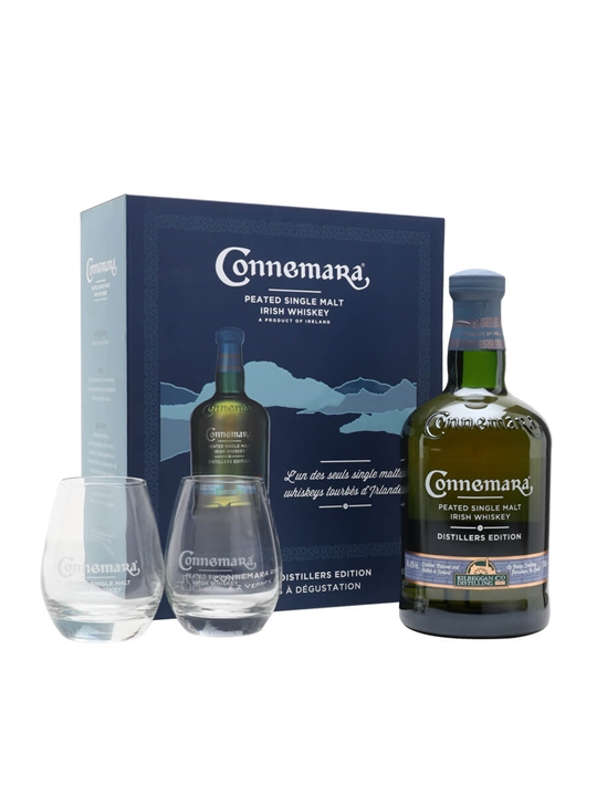 Connemara Distillers Edition Peated Single Malt / Gift Pack