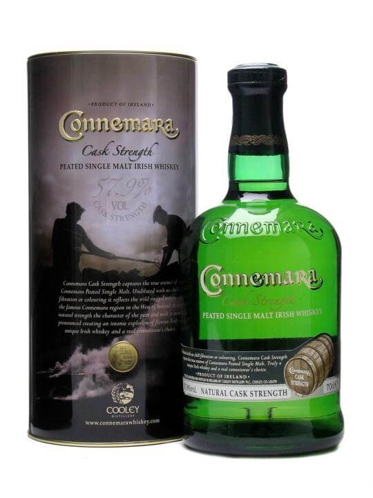 Connemara Peated Irish Whiskey / Cask Strength